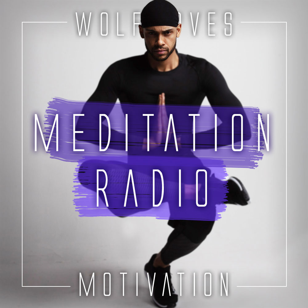 Meditation Radio Motivation Album Art