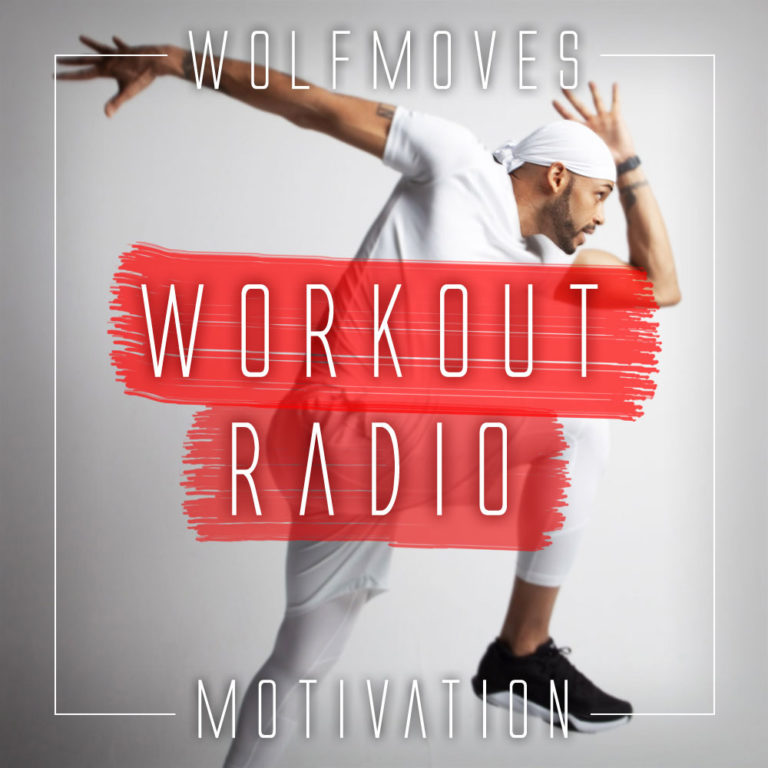 Workout Radio Motivation Album Art